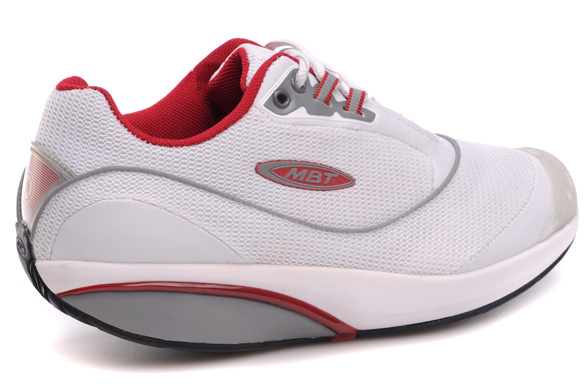 MBT FITNESS WALKING KIMONDO WHITE/RED