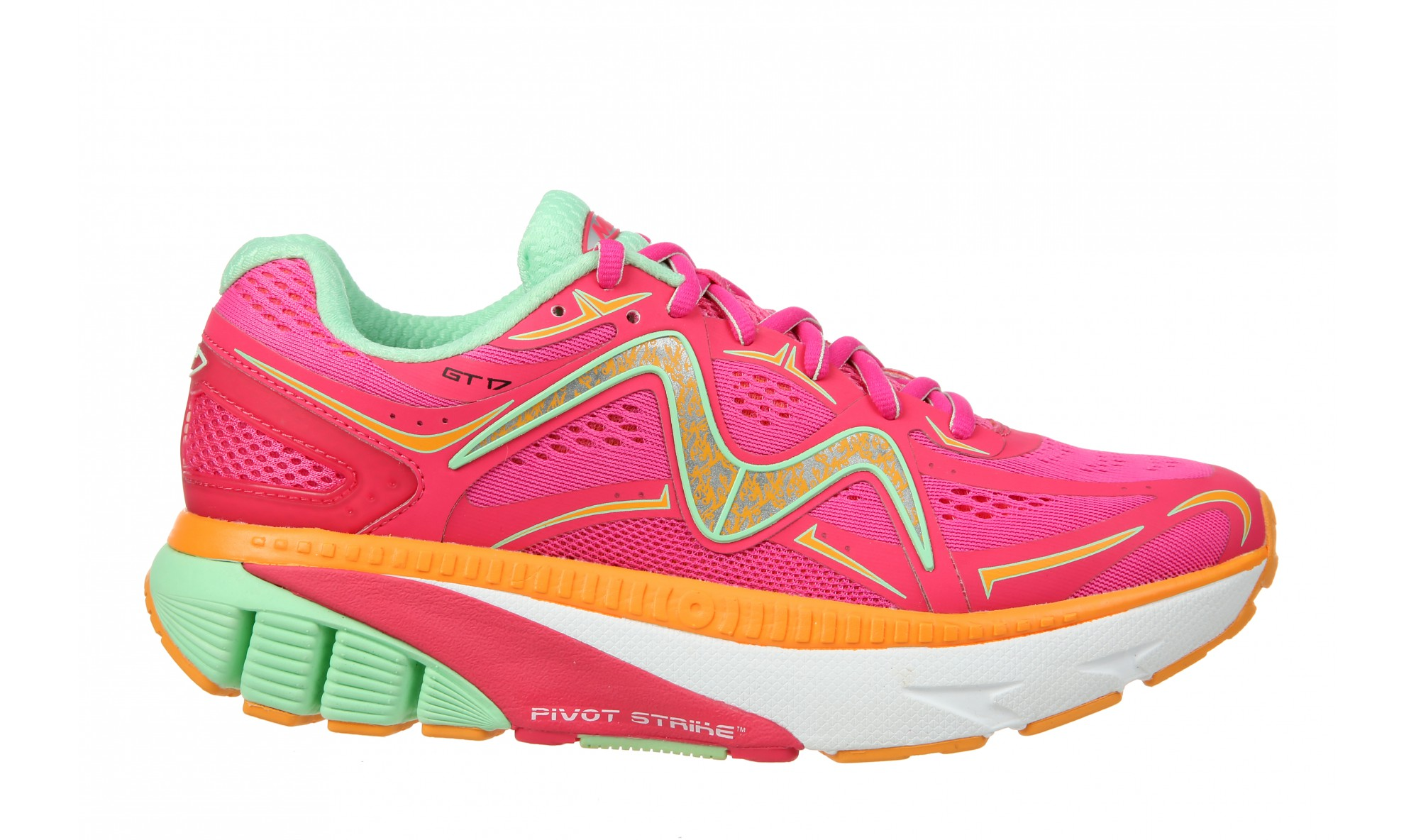 MBT GT 17 Women's Fuchsia / Mint / Orange / White
