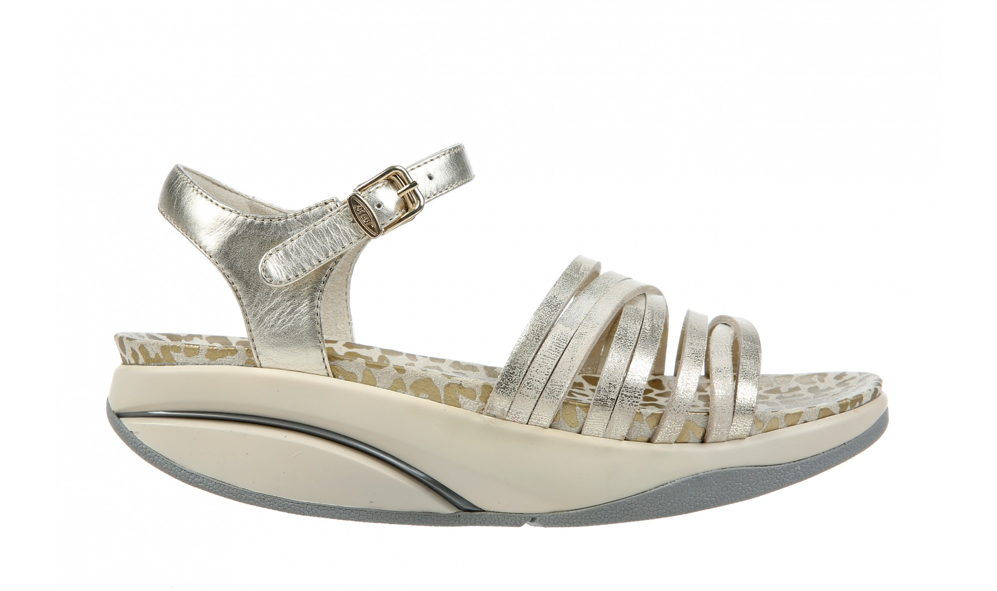 MBT Kaweria 6 Women's Sandal Gold