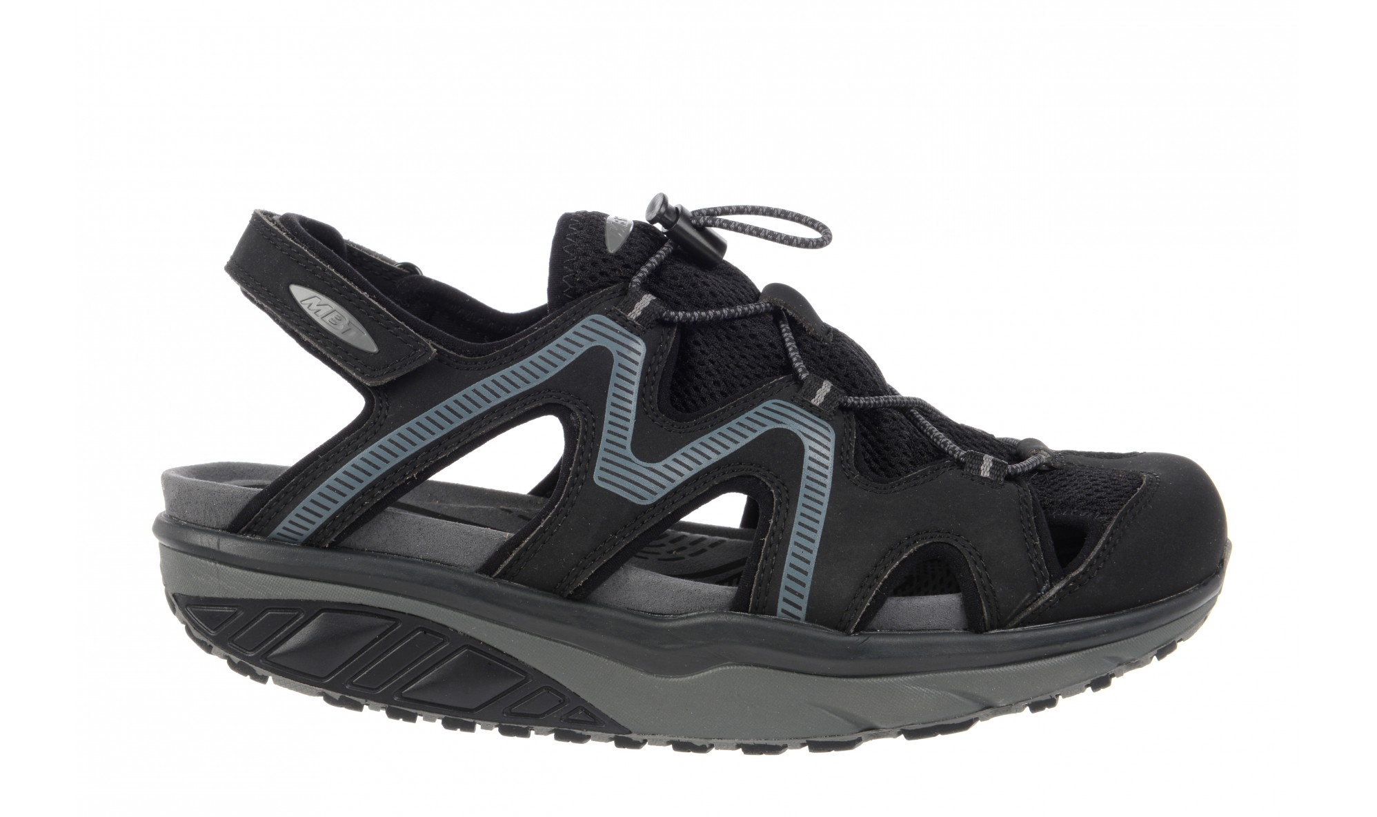 MBT Men's Jefar 6 Trail Sandal Black / Charcoal Grey