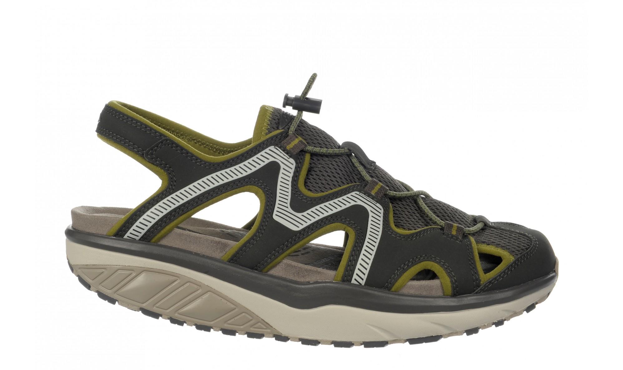 MBT Men's Jefar 6 Trail Sandal Pavement Gray / Olive / Birch Gray