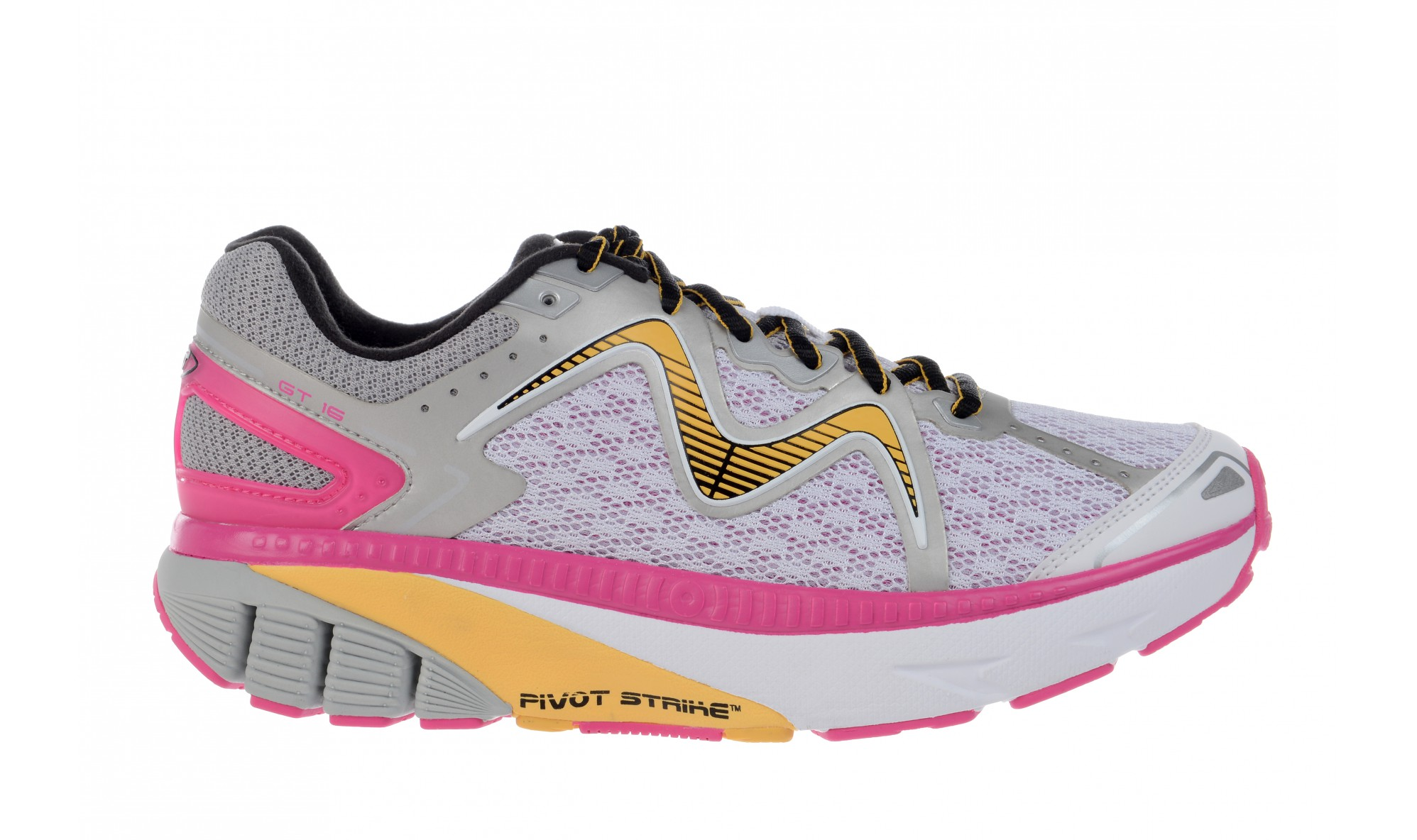 MBT Women's GT 16 White / Fuschia / Orange