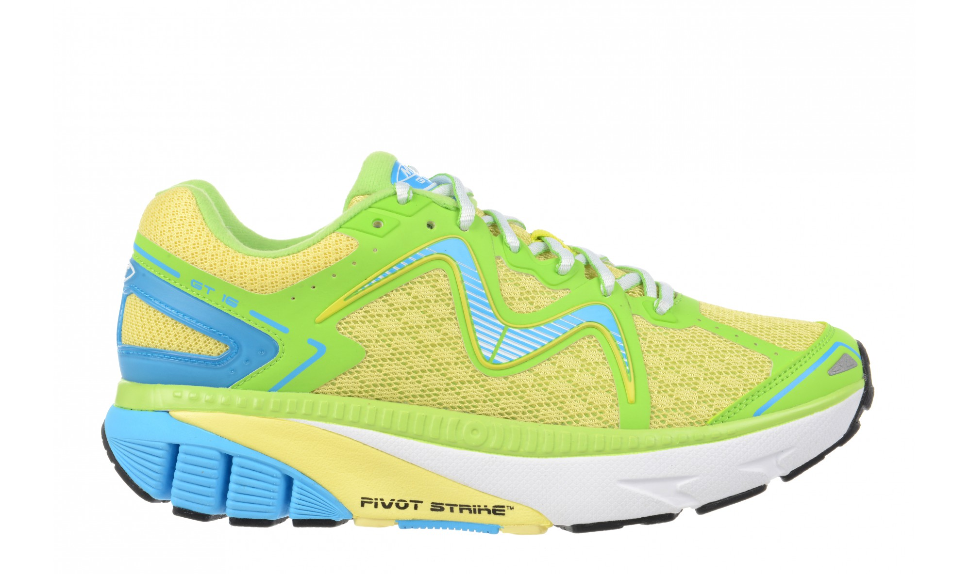 MBT Women's GT 16 Yellow / Lime