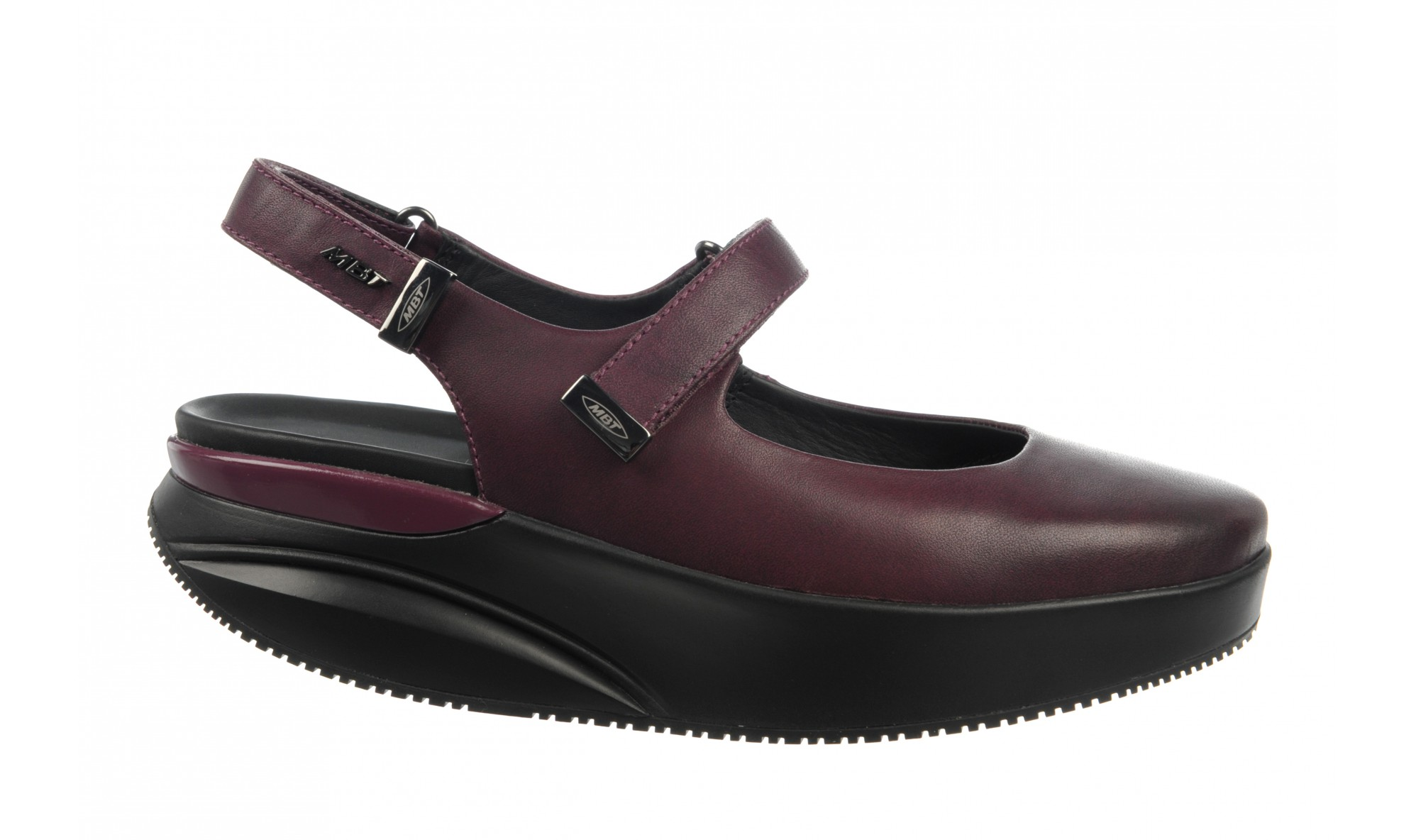 MBT Women's Koffi 5 Sling Back Grape Wine