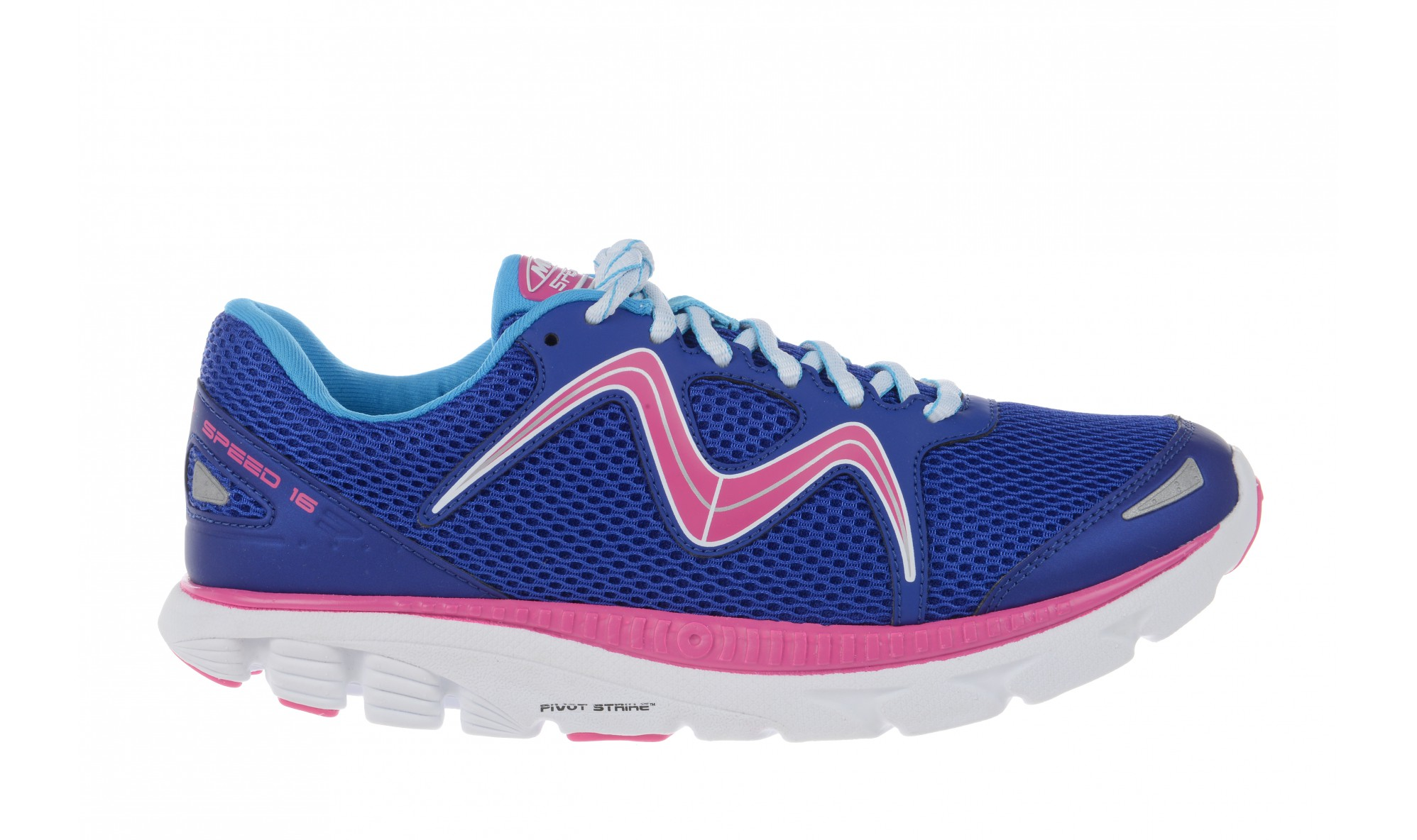 MBT Women's Speed 16 Lace Up Navy / Royal / Fuschia