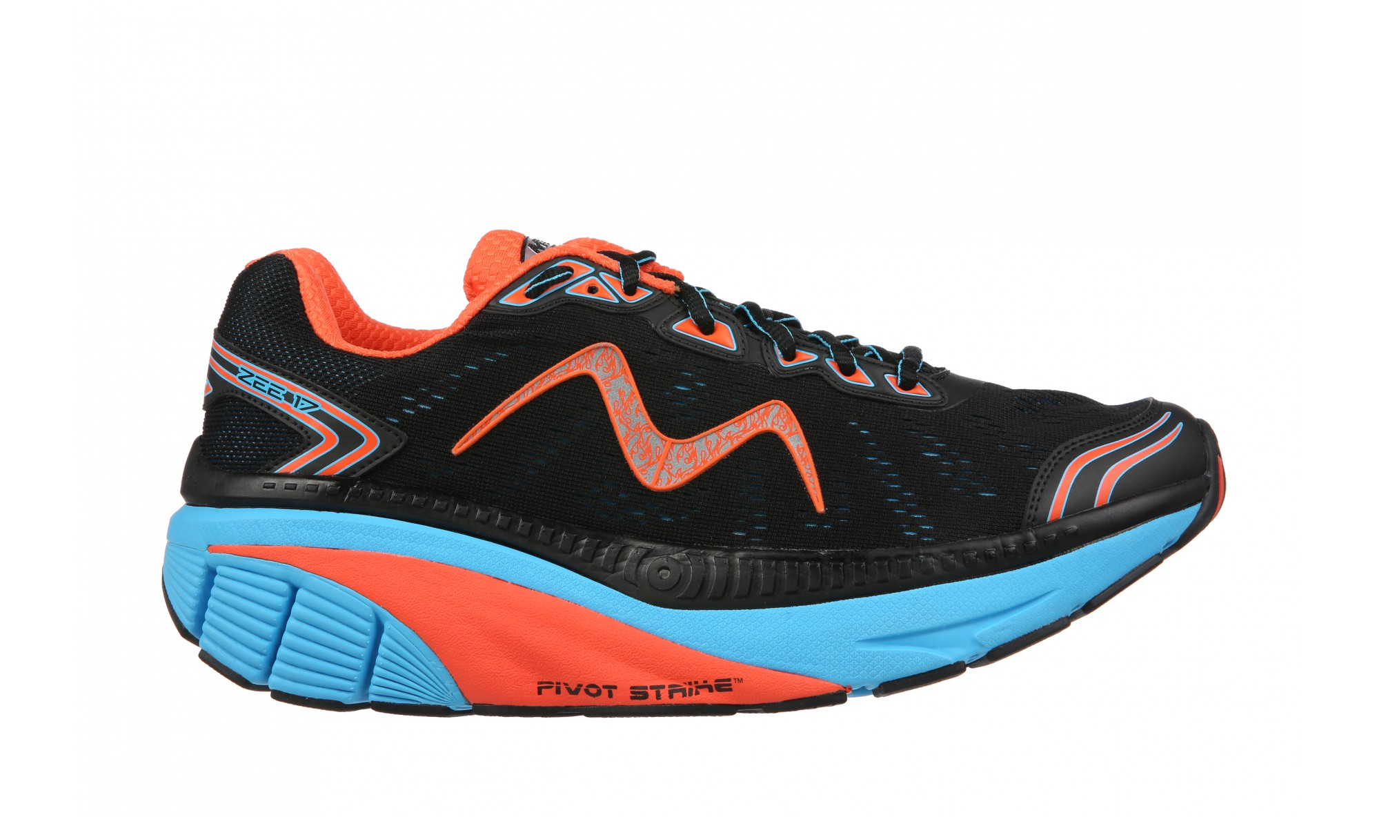 MBT Zee 17 Men's Black / Blue / Red