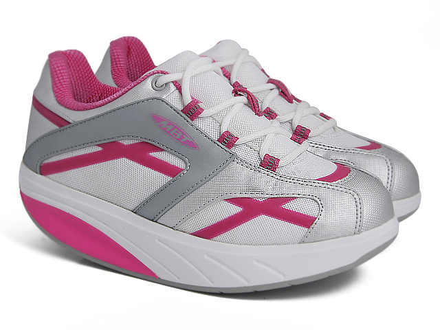 Women's MBT M. Walk Grey/Red/White