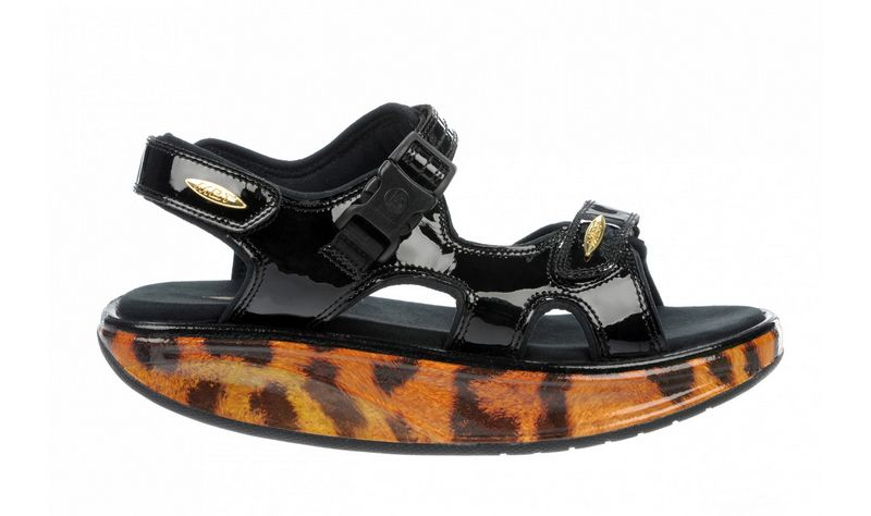 Women's MBT Kisumu 3S Gold Leopard