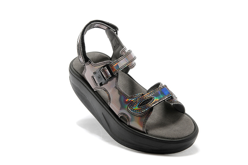 Women's MBT Sandals Radium Black