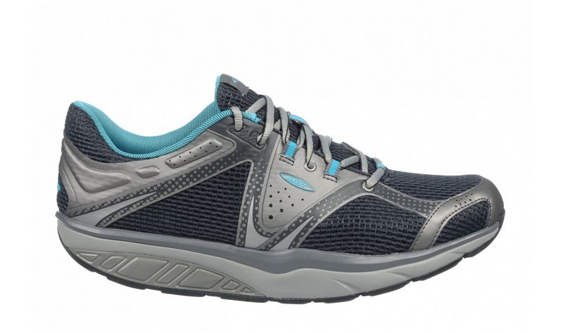 Men's MBT Simba Lace Navy and Silver