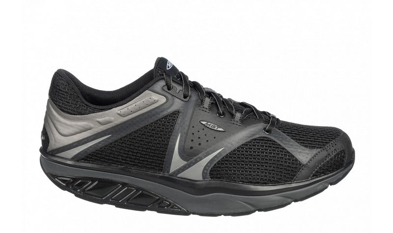 Men's MBT Simba Lace Black Granite