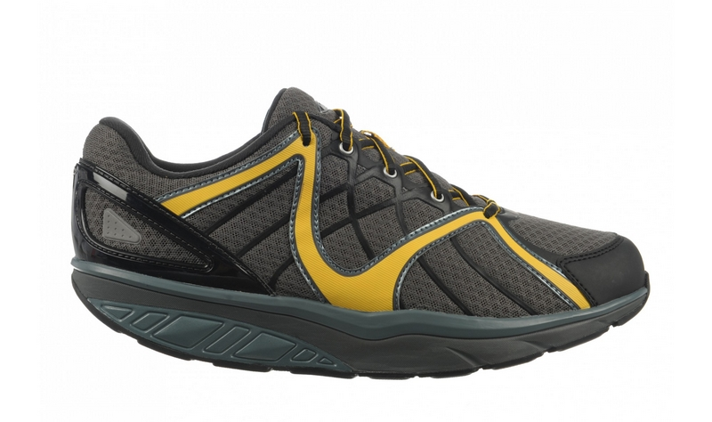 Men's MBT Jengo 5 Sport Neutral Volcano Grey, Black & Mustard