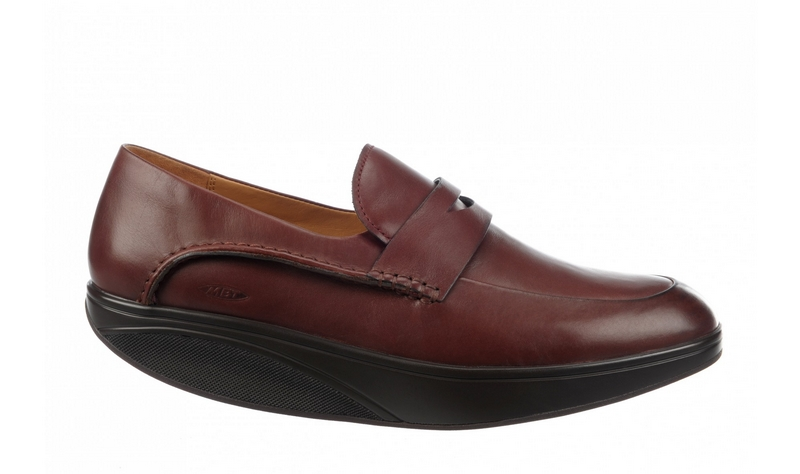 Men's MBT Asante 5 Slip On Mahogany Nappa
