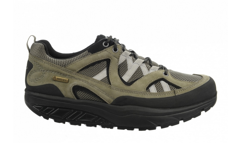 Men's MBT Hodari GTX Oak Green and Black