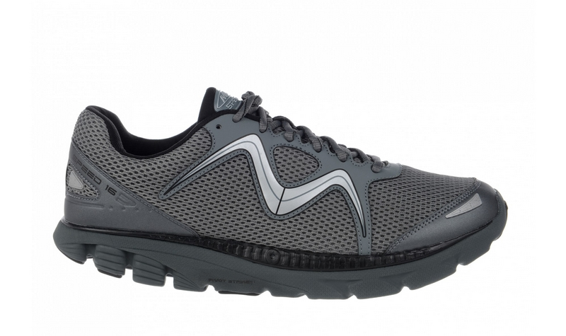 Men's MBT Speed 16 Lace Up Black / Cool Grey
