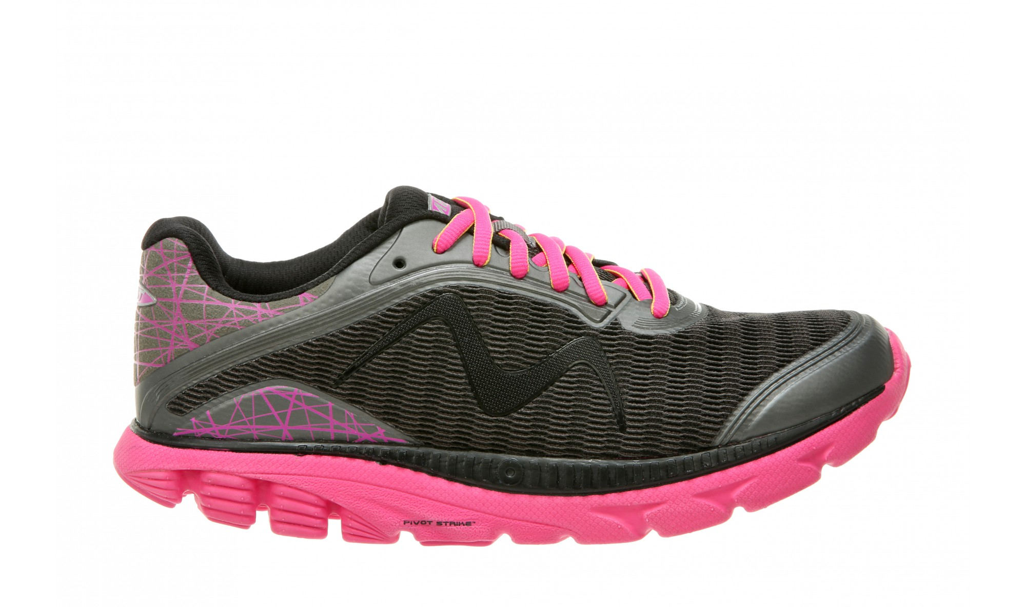 MBT Racer 18 - Women's - Dark Gray/Fuchsia