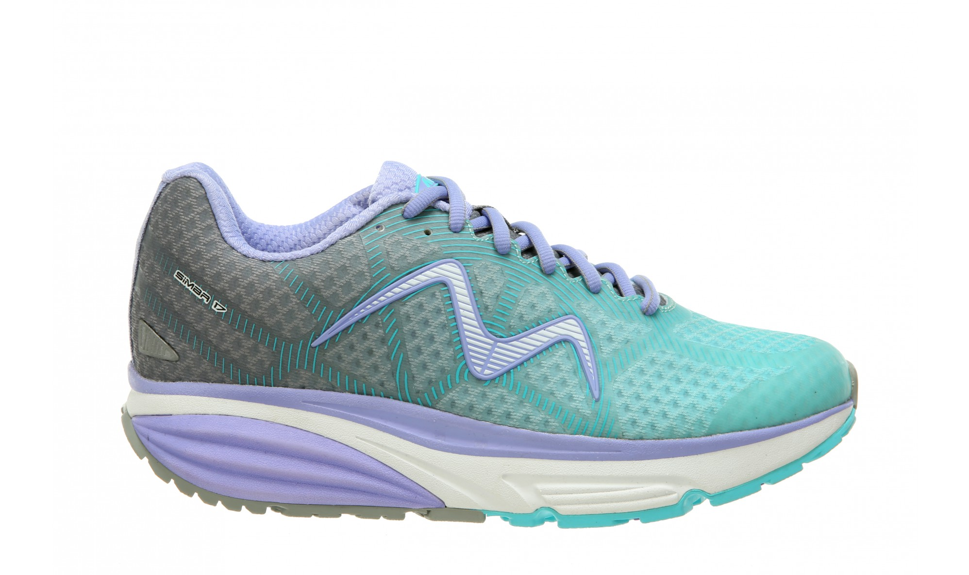 MBT Simba 17 - Women's - Grey/Cyan